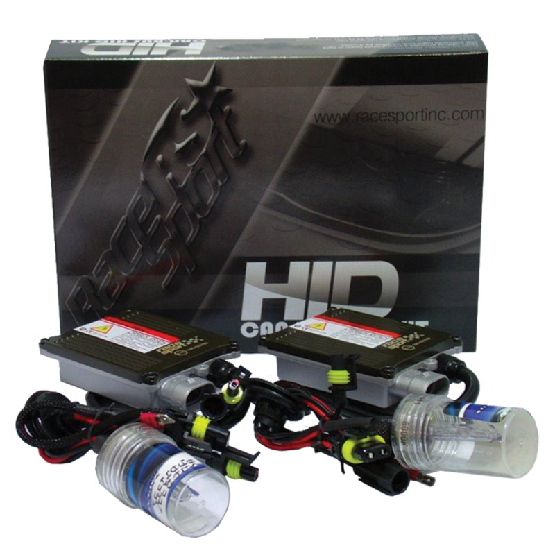 Race Sport Lighting H13 GEN1 6K Canbus HID Mid-Slim Ballast Kit - H13-6K-G1-CANBUS