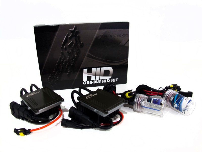 Race Sport Lighting 9006 Gen3 6K Canbus HID SLIM Ballast Kit - 9006-6K-G3-CANBUS
