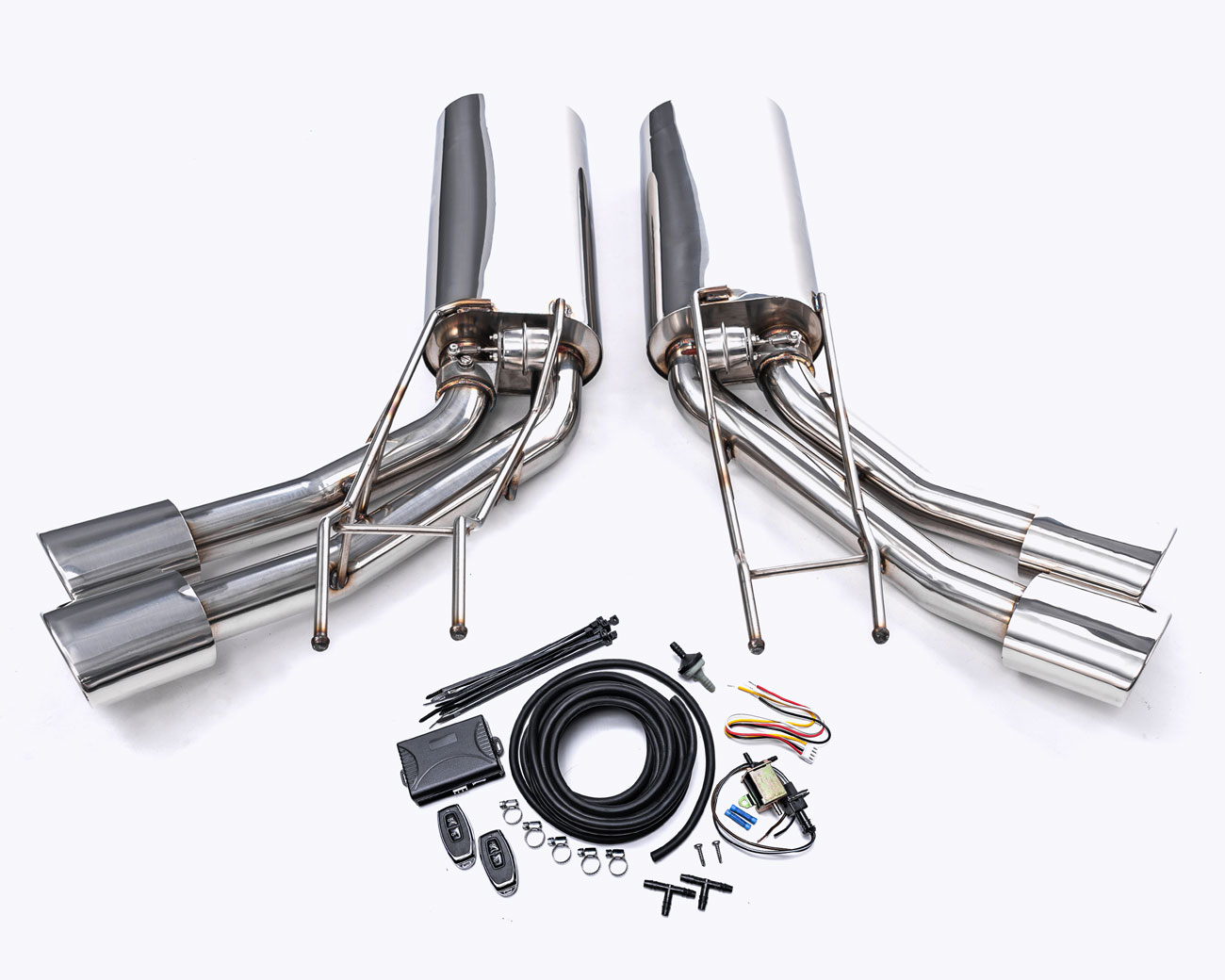 Agency Power Valvetronic Exhaust System Mercedes G500 | G55 | G63 | G65 - AP-GW463-170