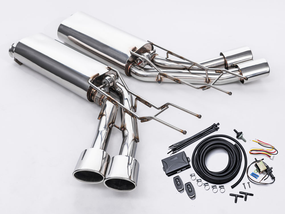 Agency Power Valvetronic Exhaust System Mercedes G500 | G550 4x4² - AP-G65-170