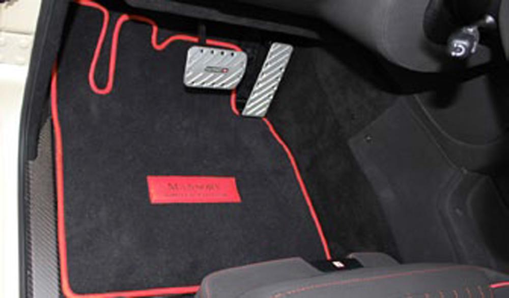 G Floor Mats >> Mansory 4 Piece Floor Mat Set Rhd Mercedes Benz G Class W463 99 17