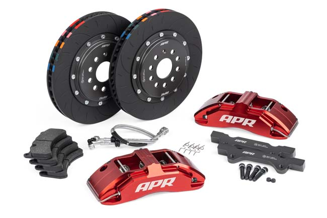 APR 350x34mm 6 Piston Brakes Red Volkswagen Mk6 GTI 10-14 - BRK00017