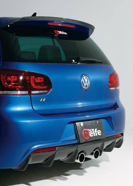 garage vary rear under diffuser 02 frp volkswagen golf mk6. Black Bedroom Furniture Sets. Home Design Ideas