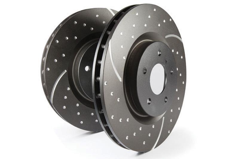 EBC Brakes GD Rotors FRONT Disc Brake Rotor FMSI D522 Front - GD823