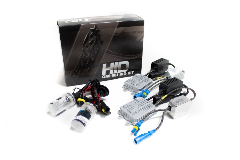 Race Sport Lighting H11 6K Gen6 Canbus HID SLIM Ballast 99% Plug-&-Play Kit - H11-6K-GEN6