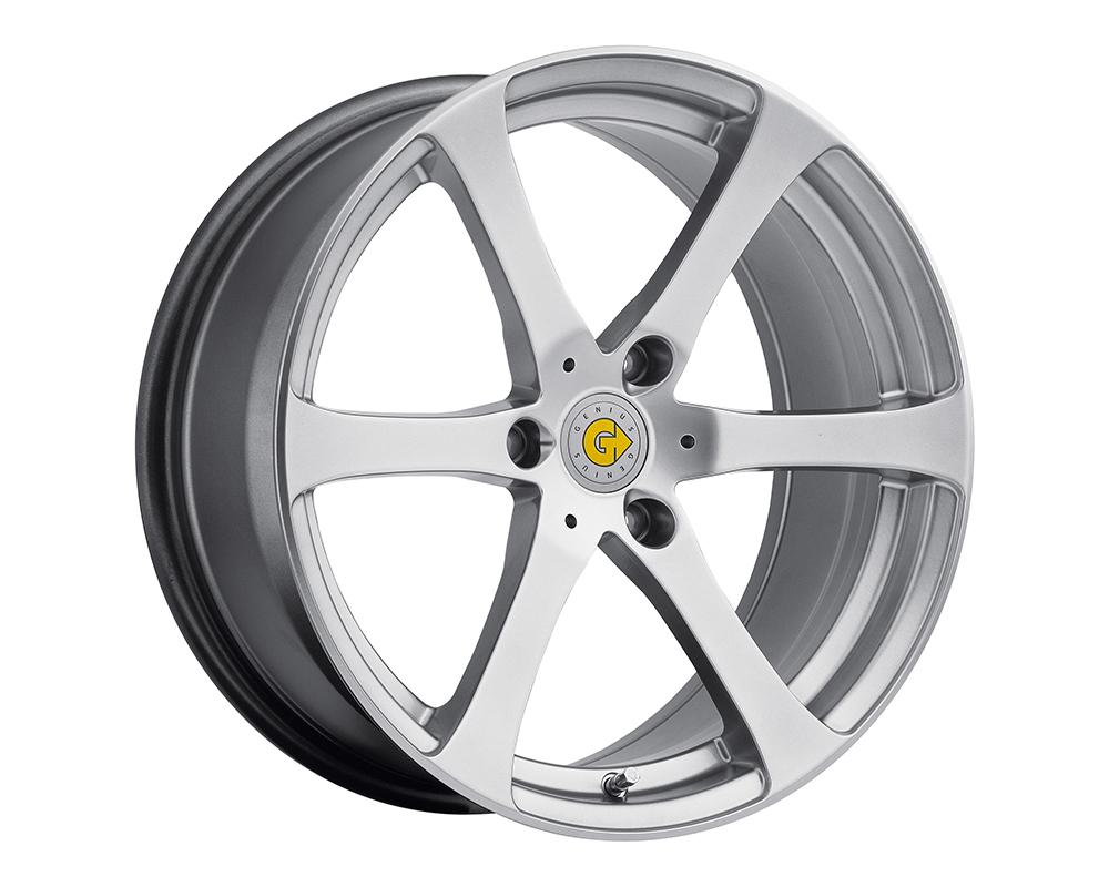 Genius Newton Wheel 17x7.5 3x112 26mm Hyper Silver - 1775GEN263112S57