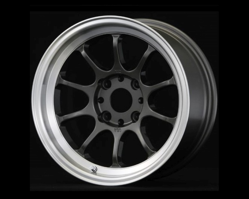 GramLights 57V Wheel 15x7.5 4x100 0mm Gunmetal & DC Lip - WGBD00AG