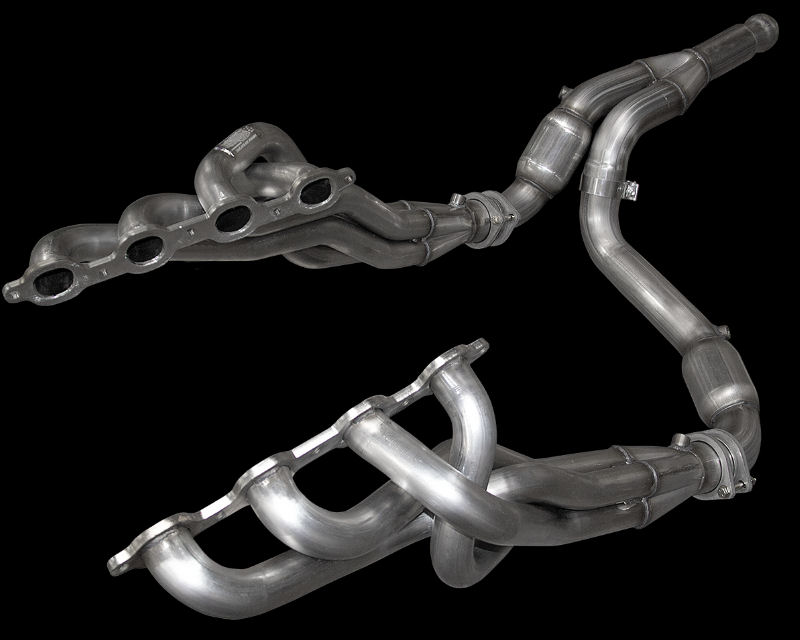 American Racing 1.75 inch x 3 inch Headers with Race Y-Pipe Chevrolet Tahoe 5.3L 15-20 - GM53-14134300LSNC