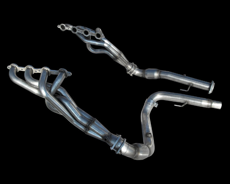 American Racing 1.75 inch x 3 inch Headers with Dual Connection Pipes GMC Sierra 2500 HD 6.0L 01-06 - GM60-99134300LSNC