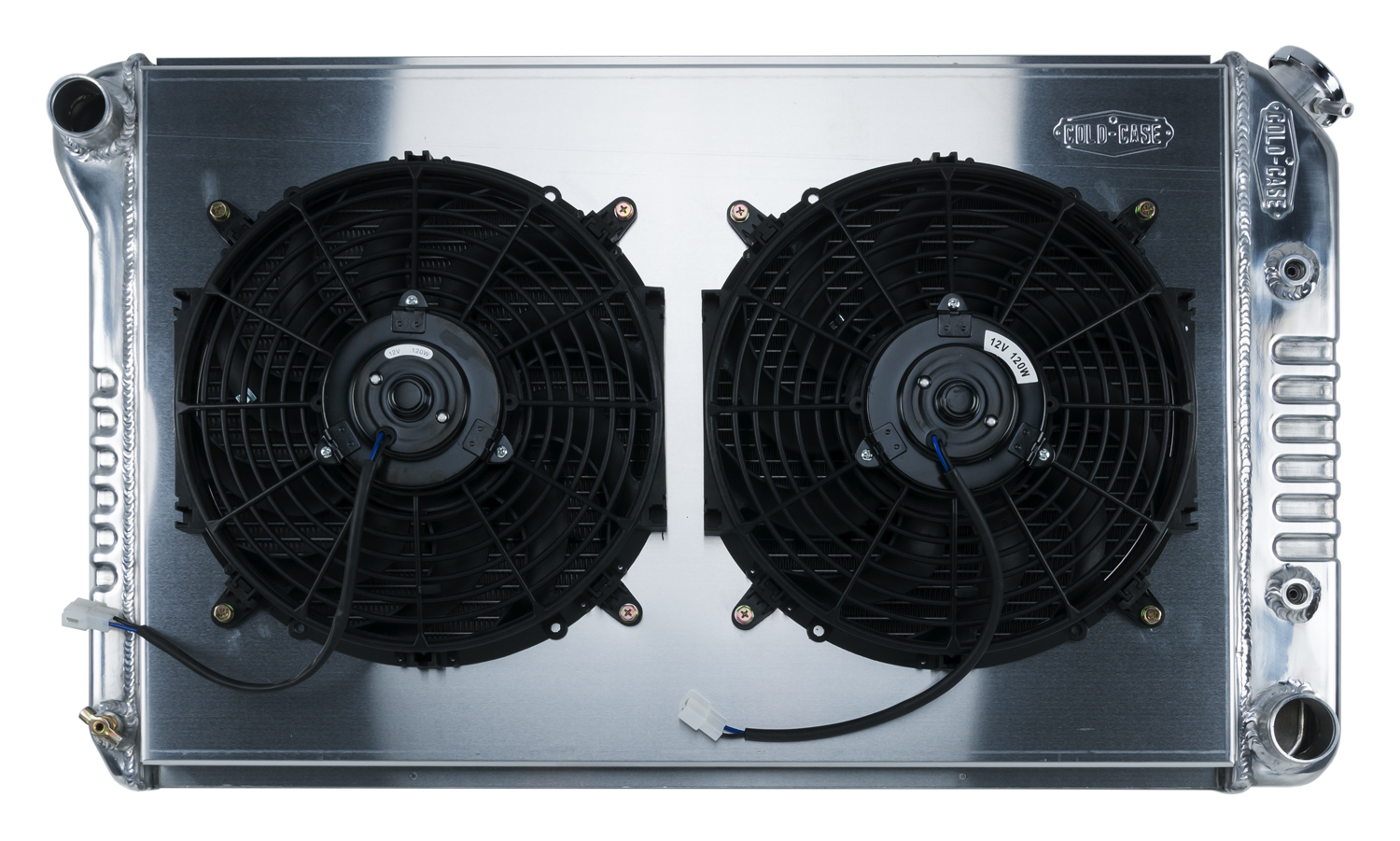 **Discontinued**78-88 GM G-Body Aluminum Radiator And 12 Inch Dual Fan Kit AT (exc. GN) Cold Case Radiators - GMG544ATFK
