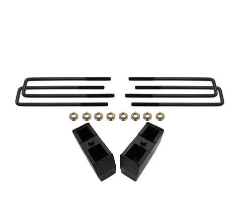 Silverado/Sierra 5 Inch Rear Block Kit 14-18 Silverado/Sierra 1500 Bison  Offroad