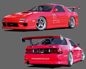 GP Sports Aero Parts 3Piece Kit | Bumper Type 01 Mazda RX-7 FC3S 86-92