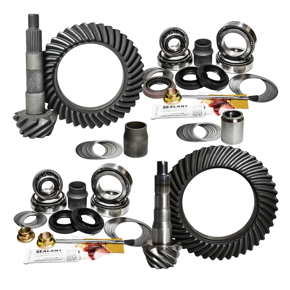 98-07 Toyota 100 Series W/E-Lock 4 88 Ratio Gear Package Kit Nitro Gear and  Axle