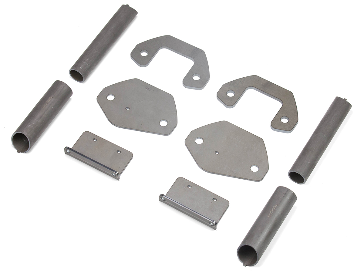 Jeep Roll Cage Tie-In Kit C-Pillar 97-06 Wrangler TJ, LJ Rear Steel Bare GenRight - GRC-5505
