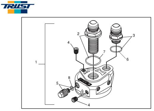 Greddy Union Fitting 1/8PF - M14xP1.5 Male-Male Universal - 11900576