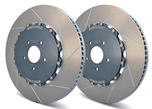 Girodisc 395mm Front 2-Piece Rotors R35 Nissan GT-R 2017-2021 - A1-084