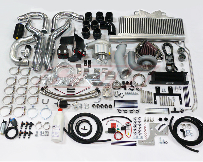 Image of GTM 550HP STG1.5 SUPERCHARGER TURN KEY KIT Nissan 370Z 09-14