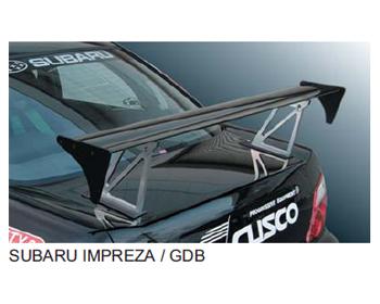 Cusco Single GT Wing Subaru WRX STI 02-07 - 666 821 HJF