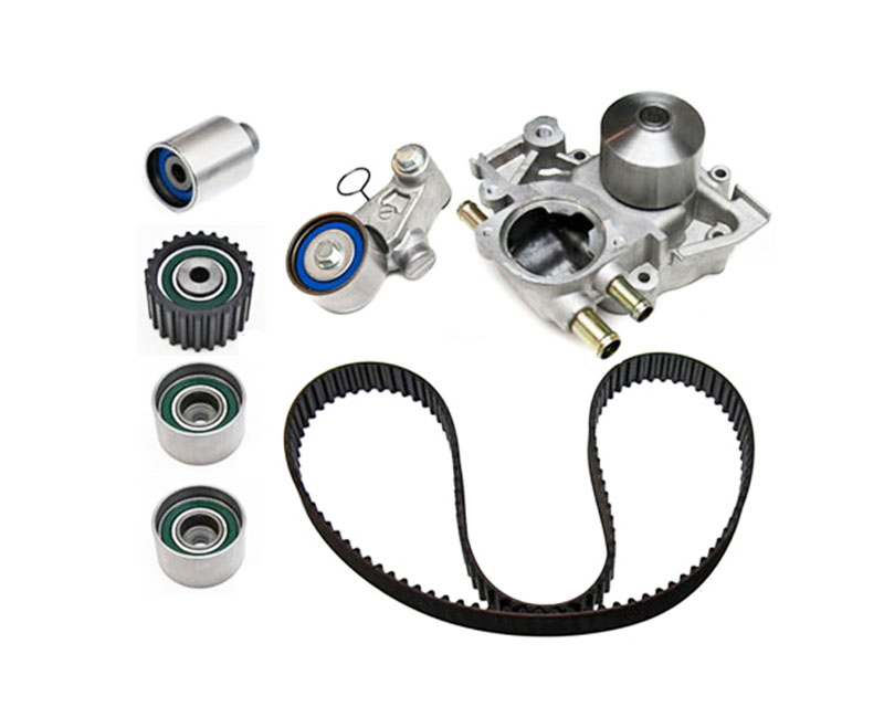 Gates Racing  Timing Belt Component Kit And Water Pump Subaru Forester 4-Cyl 2.5L 08-12 - TCKWP328CRB