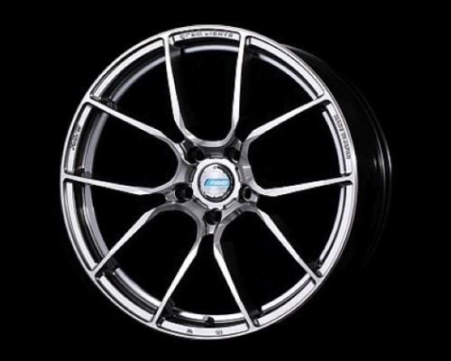 GramLights 57ANA Wheel 18x7 5x114.3 45mm Shining Silver/DC/Machining - WGAAT45ESA