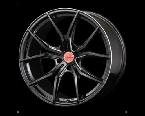 GramLights 57FXX Wheel 19x10 5x114.3 40mm Black & Machining - WGFX540EBM