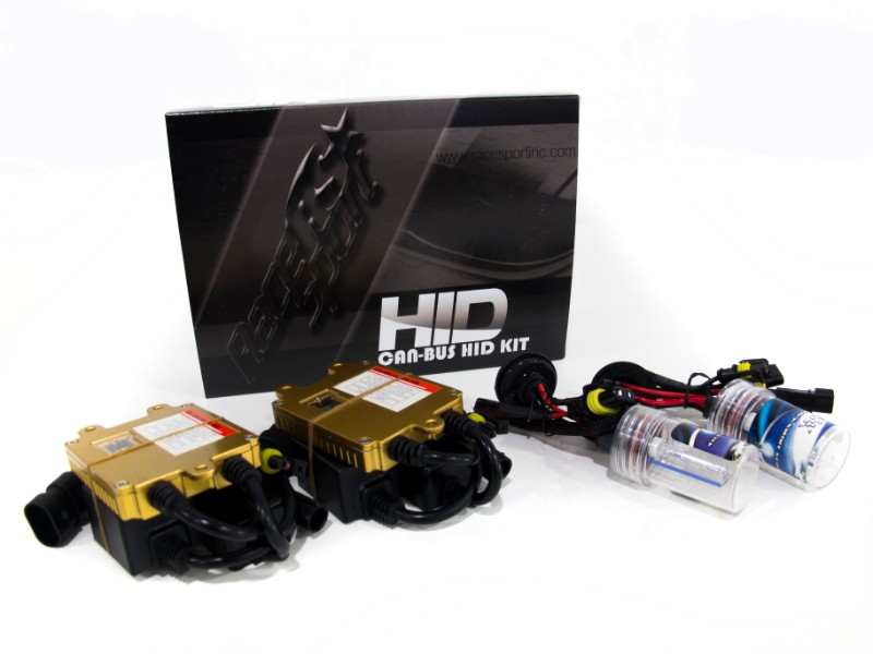 Race Sport Lighting H7 GEN4 3K Canbus HID SLIM Ballast Kit - H7-3K-G4-CANBUS