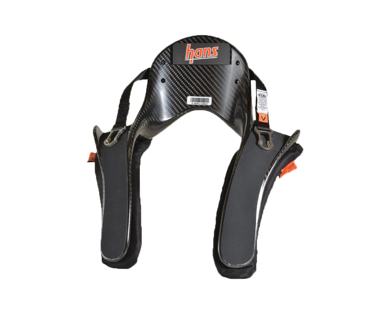 Image of HANS Device Large 20 Degree Pro Ultra Series Post Anchor Collar Sliding for SA Helmet