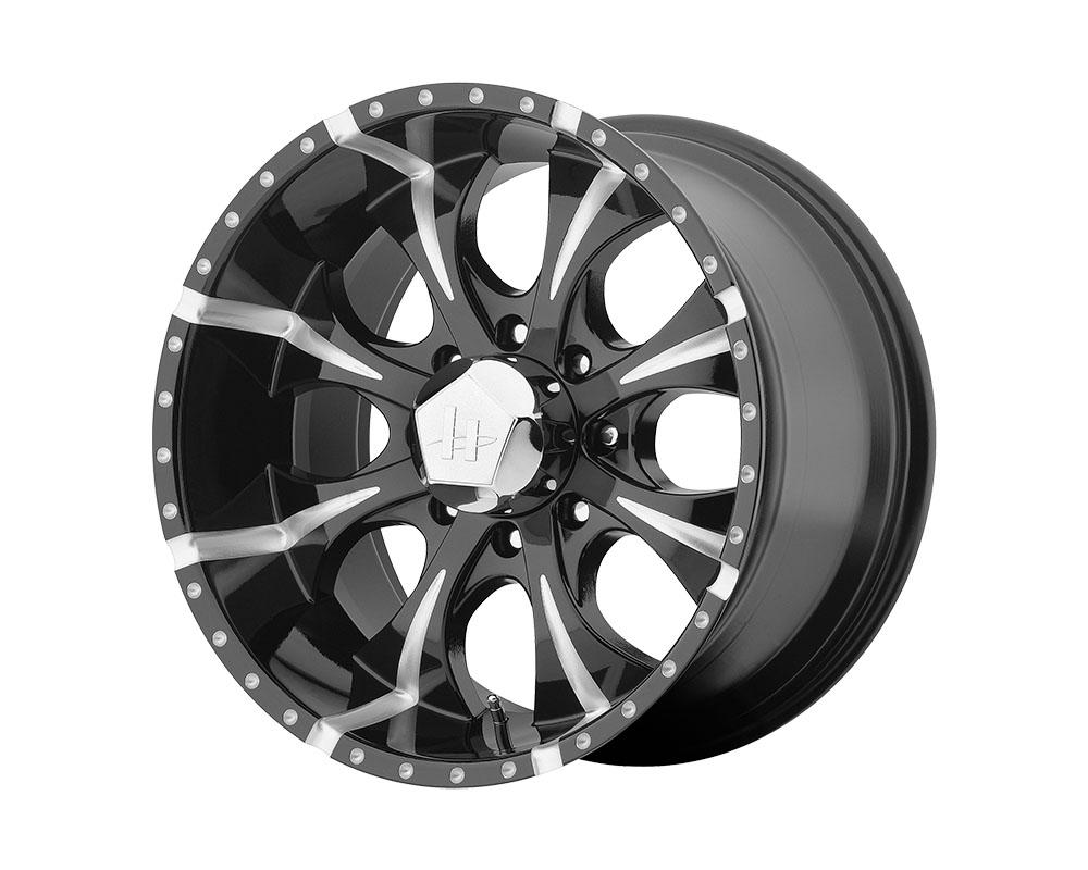 Helo HE791 Maxx Wheel 16x8 8x8x165.1 +0mm Gloss Black Milled - HE7916880900