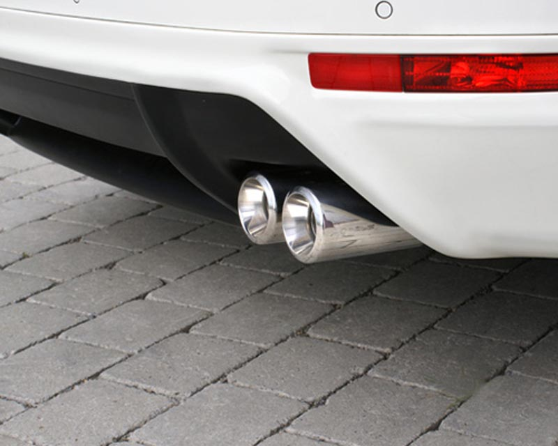 Hofele 4-Tube Sport Round Tailpipes Volkswagen Touareg 11-12 - HF 6456