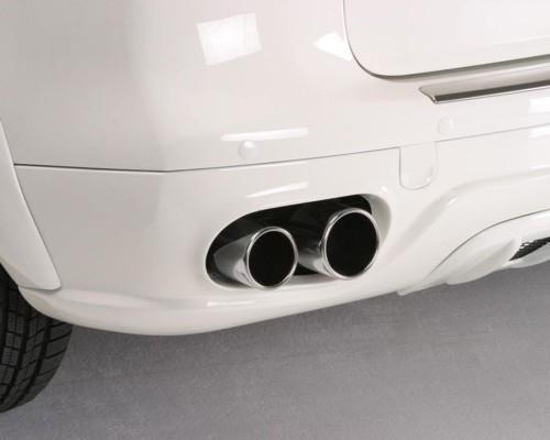 Hofele Quad Tip Sports Muffler for Hofele Rear Bumper Porsche Cayenne V8 02-10 - HF 8361