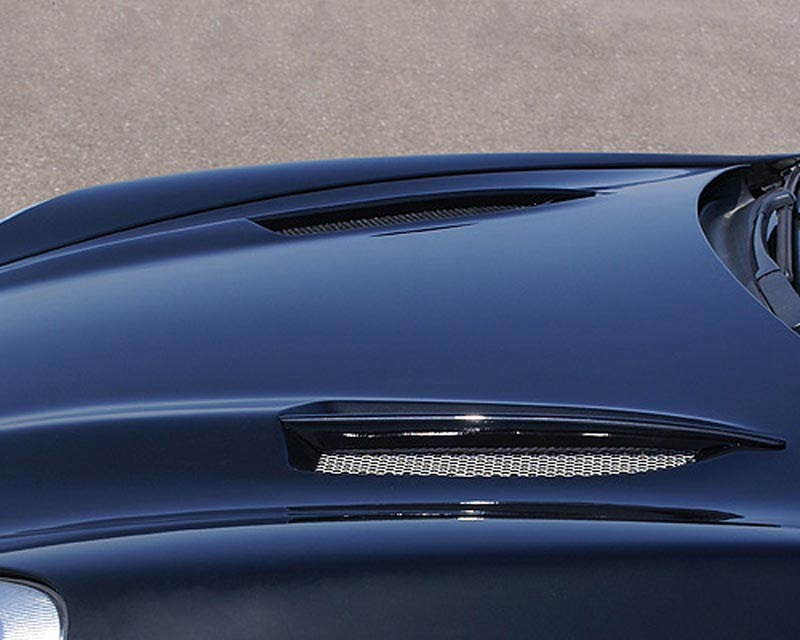 Hofele Sport Ceyster Hood w/Dual Air Vents Porsche Cayenne 02-10 - HF 8364