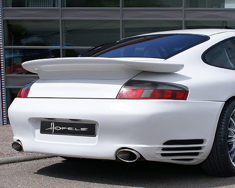 Hofele Turbo-Look Rear Bumper Porsche 996 Carrera Excluding 4S 98-05 - HF 9553