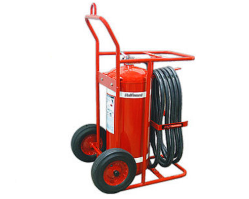 H3R Performance 150lb Red HalGuard Wheeled Clean Agent Fire Extinguisher - HG15000R