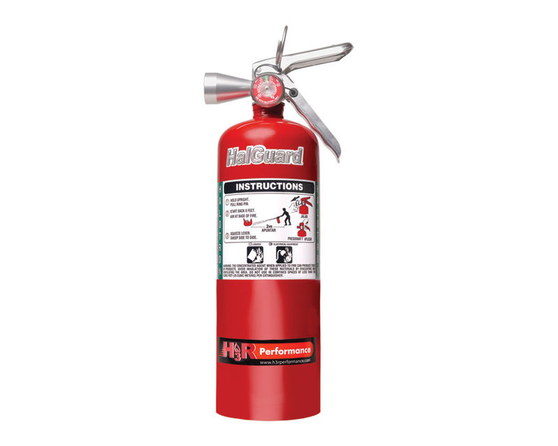 H3R Performance 5lb Red HalGuard Clean Agent Fire Extinguisher - HG500R