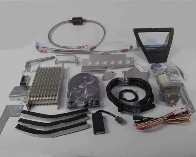 Differential Oil Cooler : An hks differential oil cooler kit nissan r