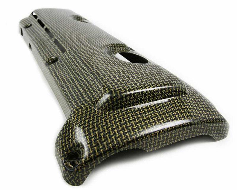 HorsepowerFreaks HPF Vented Carbon Kevlar Engine Cover BMW E89 Z4M 06-08 - HPF-Z4M-ENGCOVKEV