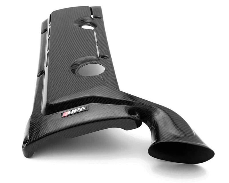 HorsepowerFreaks HPF Vented Carbon Fiber Engine Cover w/ Ram Horn BMW E46 M3 01-06 - HPF-E46-ENGCOVRAM