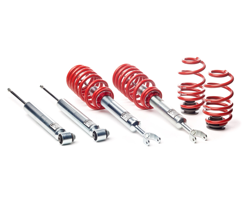 H&R Street Perf. Coil Over without Self-Leveling Drop 1.2-2.2F 1.0-2.0R Audi A6 Avant Quattro AWD, 4F 06-11 - 50320-2