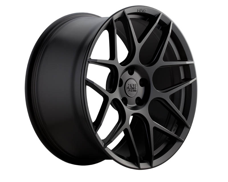 HRE FF01 Matte Black Flowform Wheel 19x9.5 5x112 45mm