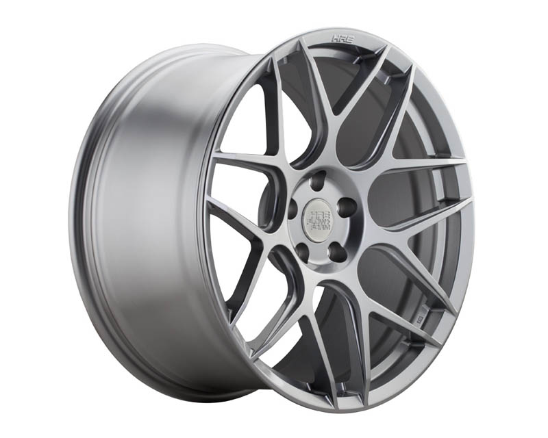 HRE FF01 Silver Flowform Wheel 19x9.5 5x112 45mm
