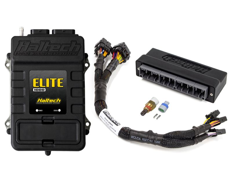 Haltech Elite 1000 + Plug and Play Adaptor Harness Kit Honda S2000 2000-2004 - HT-150843