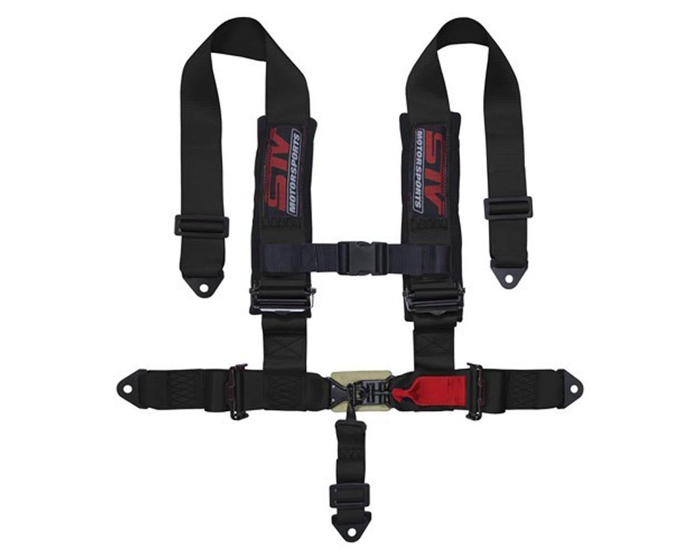 STV Motorsports 5-Point Sewn-In Type Racing Harness - Harness-5-Point-2-H-Black