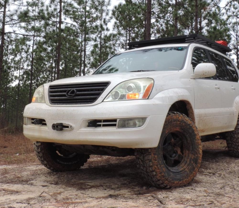 2006 Lexus Gx Exterior: Southern Style Offroad Incognito Hidden Winch Lexus GX470