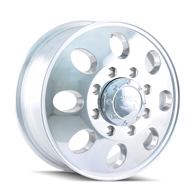ION 167 Polished 17x6.5 8x210 125.3mm 154.2mm Wheel - 167-7679FP
