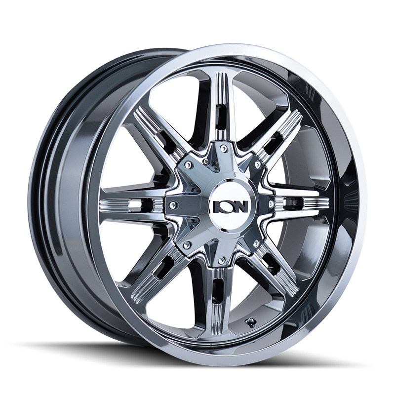 ION 184 Chrome 17x9 6x135 | 6x139.7 0mm 106mm Wheel - 184-7937C