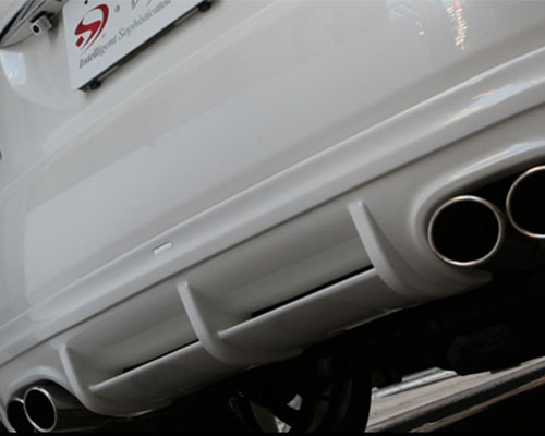ISM Rear Lip With Stainless Steel Exhaust Dual Exhaust Lexus RX 04-09 - ISM-ACU30W-RHEXH