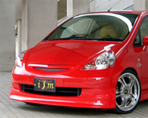 ISM Front Half Spoiler Honda Fit 01-08 - ISM-FITK-FH
