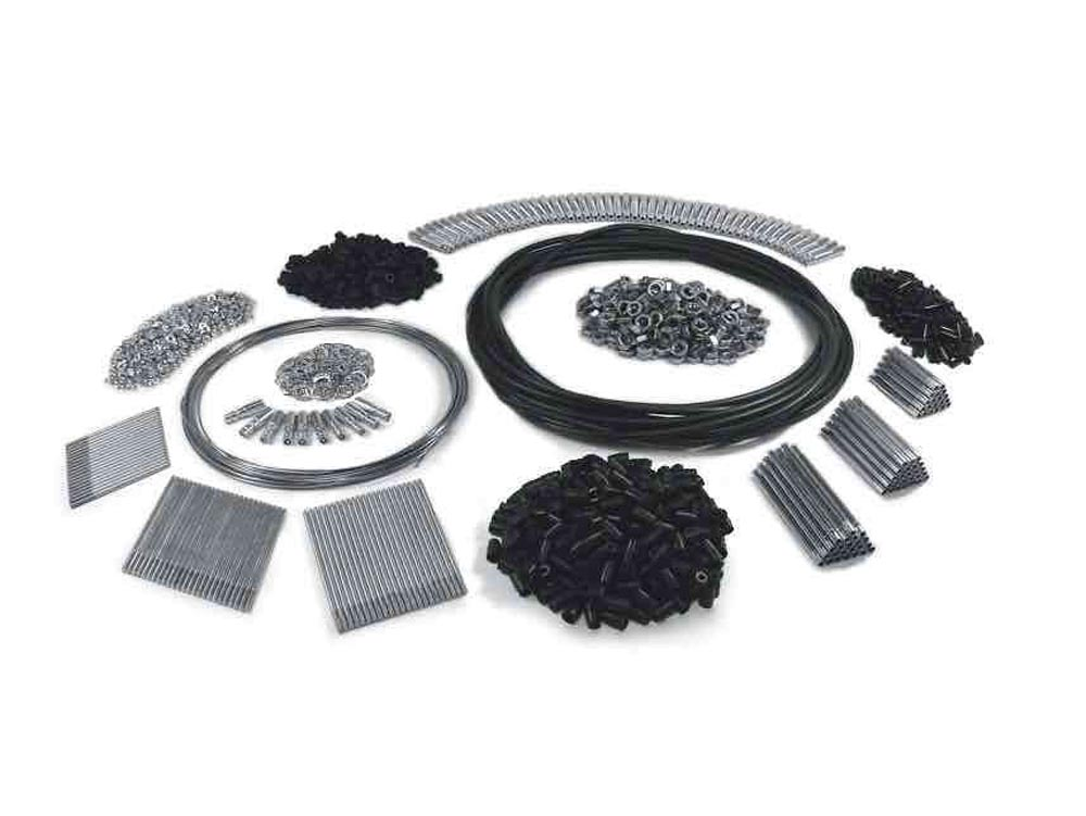 Steinjager Build Your Own Cables Cables, Push-Pull 1/4-28 Complete Kit - J0030394