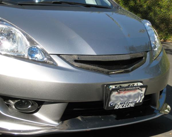 Image of JDP Engineering Carbon Front Grill Honda Fit GE 09-11