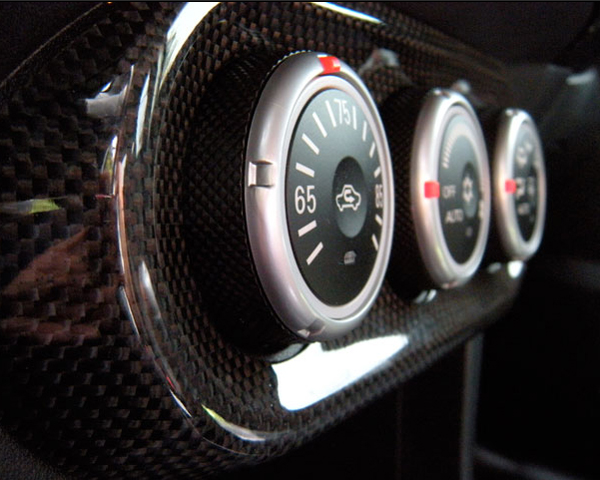 Image of JDP Engineering Carbon AC Panel Cover Mitsubishi Evolution X 08-14